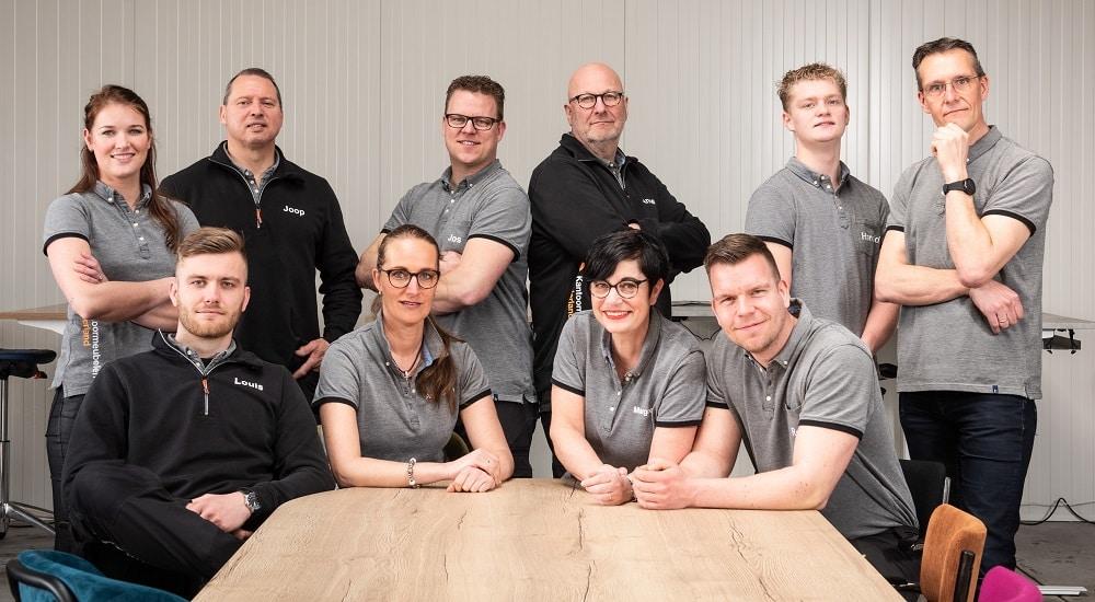 Het team van Kantoormeubelen Nederland